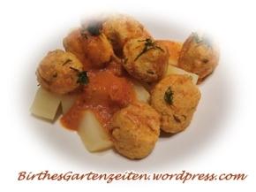 [Rezept] Vegetarische Klöpschen inGemüsesauce