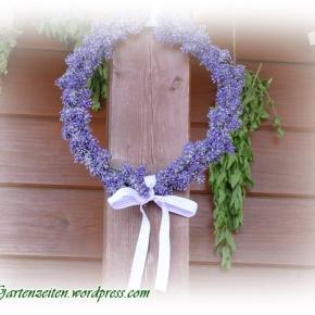 [Lavendel] Deko DIY: Lavendelkranzbinden