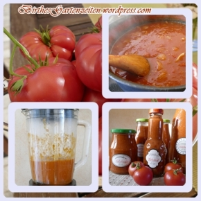 [Selbst gekocht statt selbst gekauft]: Tomatenketchup OHNE Zucker – ganz einfach und soolecker
