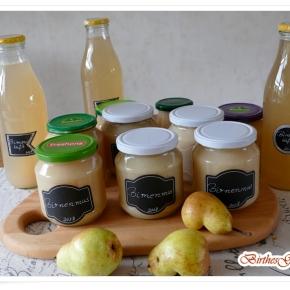 Birnen konservieren: 2-in-1: Birnensaft und Birnenmus im Dampfentsafter!