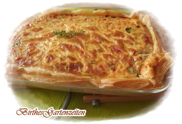 Rezept Schnelle Küche]: Gemüsequiche | Birthes bunter Blog ...